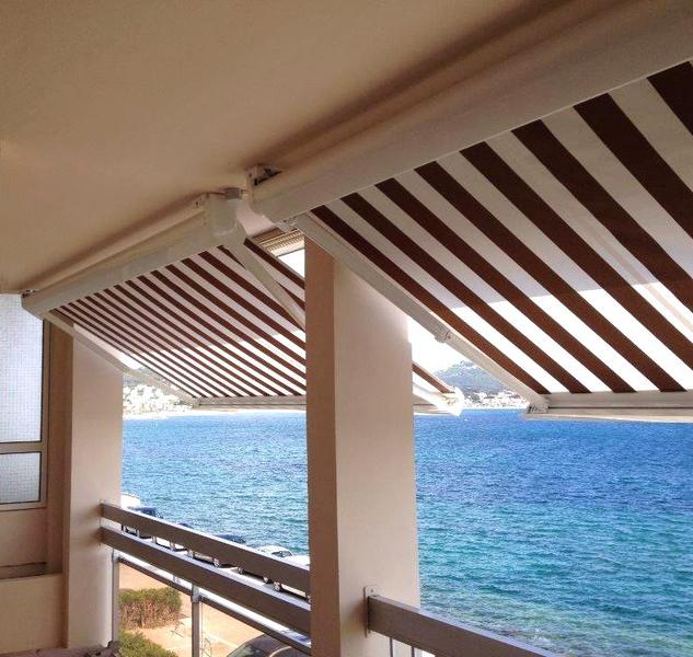 rideau exterieur balcon excellent rideaux extrieur sur la terrasse pour plus duintimit et. Black Bedroom Furniture Sets. Home Design Ideas